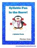 Syllable Fun in the Snow!