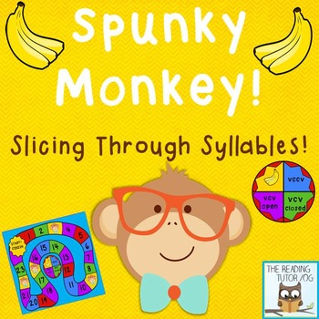 Syllable Game Freebie Multisensory Phonics Approach Orton-Gillingham