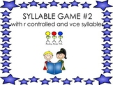 Multi-Syllable Game #2 r-controlled and v-c-e