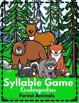 Syllable Game-Forest Animals