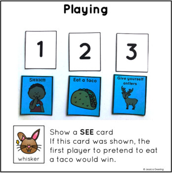 Syllable Game- See, Match, Move