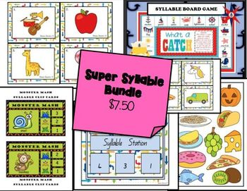 Syllable Games *BUNDLE*