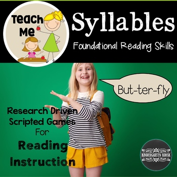 Syllable Literacy Lessons and Games: Teach Me To Read