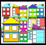 Syllable Houses (Sunnah Learners Clipart)