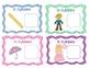 Syllable Identification Activities