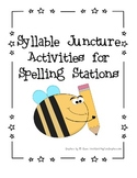 Syllable Juncture Spelling Packet