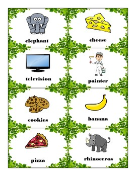 Syllable Jungle Game