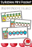 Syllable Literacy Centre Mini-Packets: Smashing Smoothie S