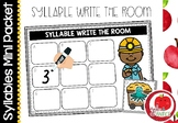 Syllable Literacy Centre Mini-Packets: Syllable Write the Room