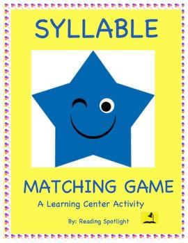 Syllable Matching Game