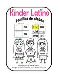Syllable Mini-books (libritos de silabas para leer) by Kinder Latino