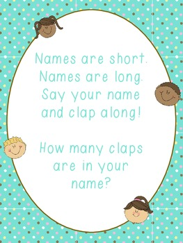 Syllable Name Song