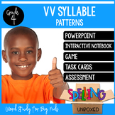 Syllable Pattern VV Spelling Word Work Unit