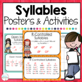 Syllables Posters and Activities