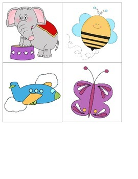 Syllable Picture Cards