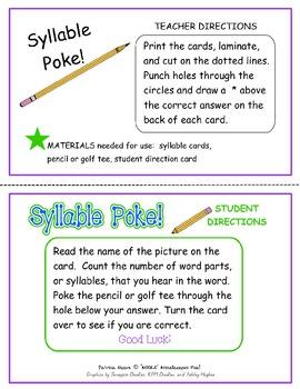 Syllable Poke!