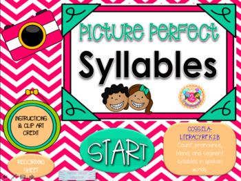 Syllable Power Point Game (1,2,& 3 syllable word)