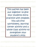 Syllable Pratice