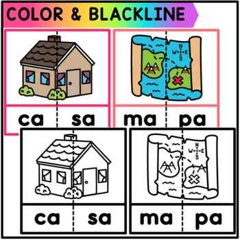Spanish Word Puzzles - Centro de Silabas
