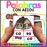 Syllable Puzzles Spanish - Set 1