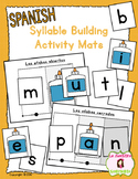 Syllable Reading: Syllable Building Mats (Spanish)