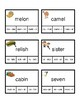 Syllable Rules Clip-it Activity Cards