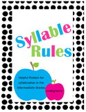 Syllable Rules Poster Set