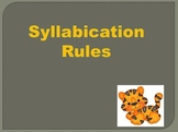 Syllable Rules & Practice Powerpoint