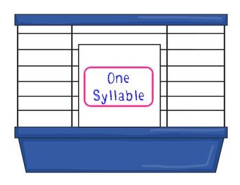 Syllable Safari - CCSS K.RF.2b