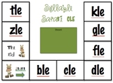 Syllable Safari Final Stable Syllable Literacy Center Game