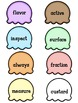 Syllable Games - Scoop and Sort