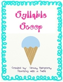 Syllable Scoop {Spanish}