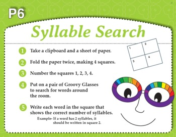 Syllable Search with Groovy Glasses