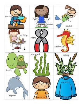 Syllable Segmentation Practice - Phonological Awareness Skills Test Practice