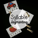 Syllable Segmenting Activity Pack