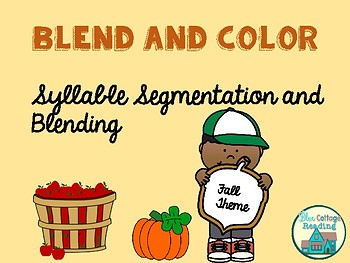 Syllable Segmenting and Blending