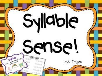 Syllable Sense