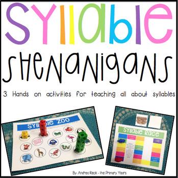 Syllable Shenanigans