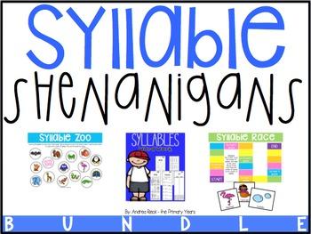 Syllable Shenanigans {THE BUNDLE}