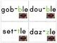 Syllable Showdown [Consonant -le Resources] CCSS Aligned