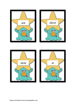 Syllable Sight Word Sound Off