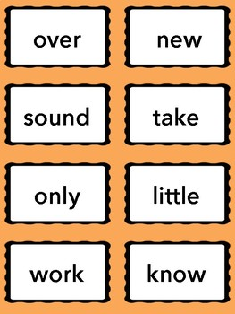 Syllable Slam! Second 100 Fry Words