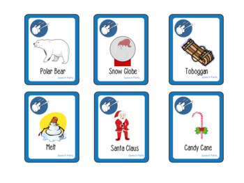FREEBIE! Syllable Snowball Fight: Winter Vocabulary Card Game