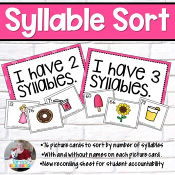Syllable Sorting- How Many Syllables?