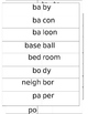 Syllable Sort (2-3 syllable words)