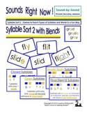 Syllable Sort 2 with Blends
