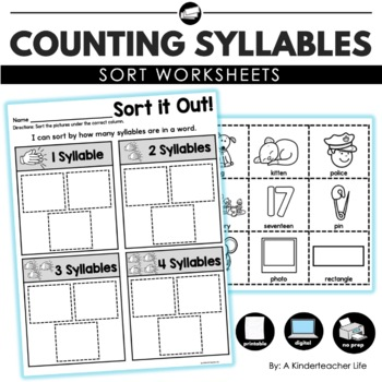 Syllables Sort