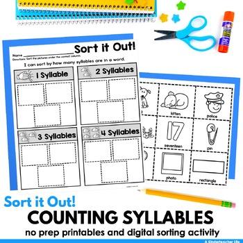 Syllables Sort
