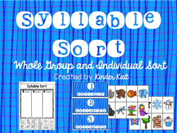 Syllable Sort {Bundle}