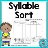 Syllable Sort